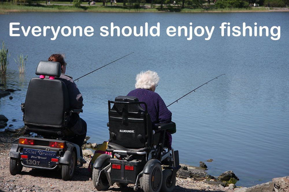 Disabled Fishing Equipment for Handicap Fishing