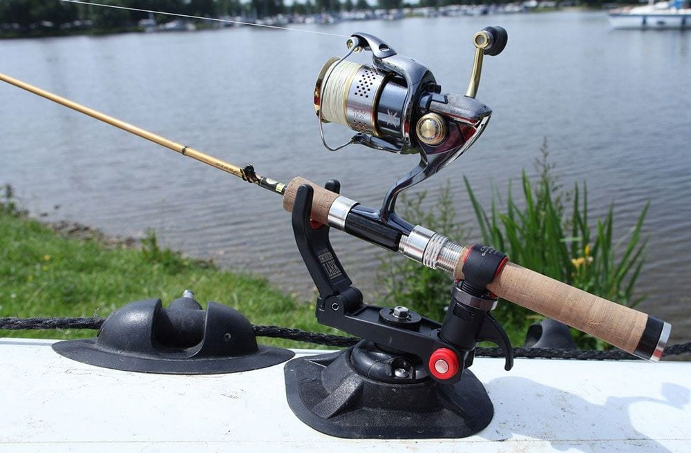 Fishing Rod Holder for Disable People